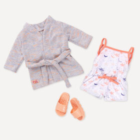 Our Generation, Dream Come True, Pajama and Robe Outfit for 18-inch Dolls