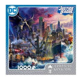 Ceaco Thomas Kinkade DC Comics 1000 pièces Puzzle Showdown à Gotham Pier