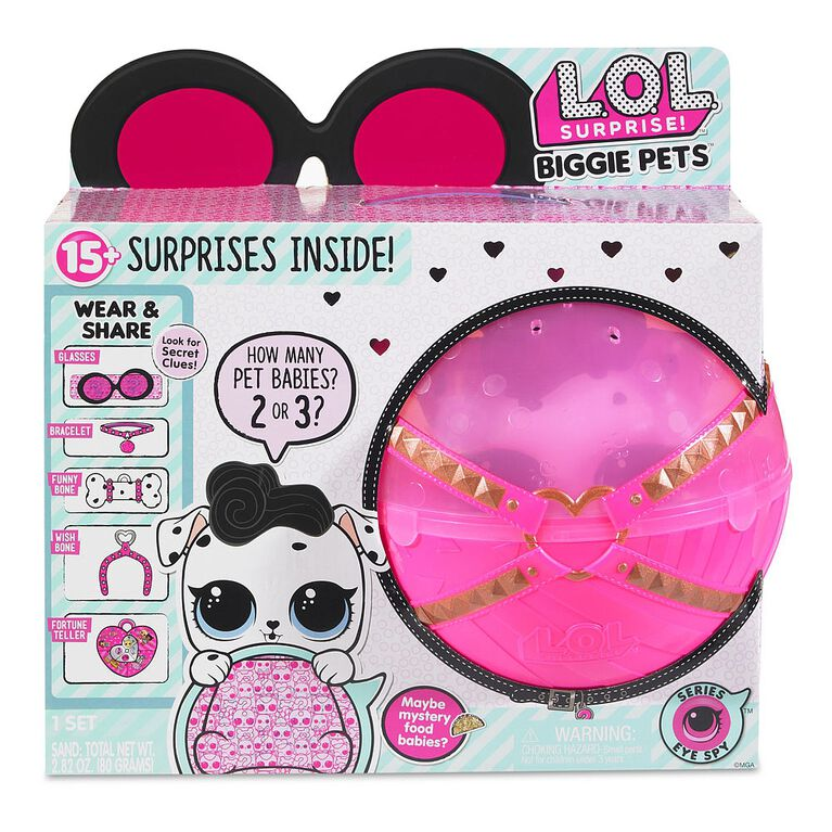 L.O.L. Surprise! Biggie Pet- Dollmation