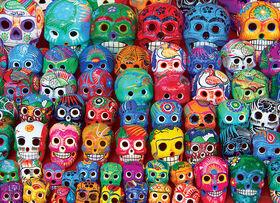 Eurographics Tradicional Mexican Skulls 1000 Puzzle Piece
