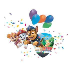 Wall decal with Augmented Reality (including free APP) - Wallstories/Paw Patrol - Pups Save the Parade