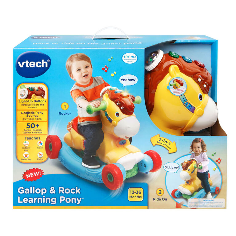 Gallop & Rock Learning Pony - English Edition