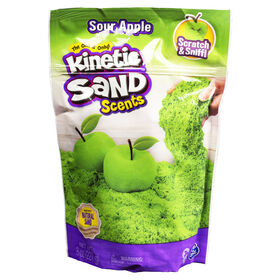 Kinetic Sand Scents, 8oz Sour Apple Green Scented Kinetic Sand