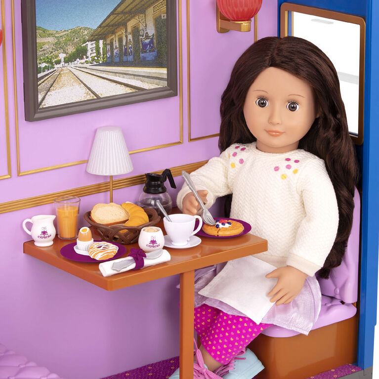 Our Generation, Morning On The Move, Breakfast Set for 18-inch Dolls