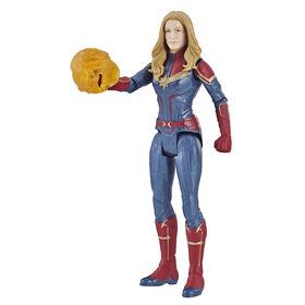 Marvel Avengers : Phase finale - Figurine Capitaine Marvel de 15 cm.