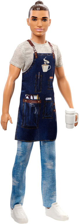Barbie Barista Ken Doll - English Edition