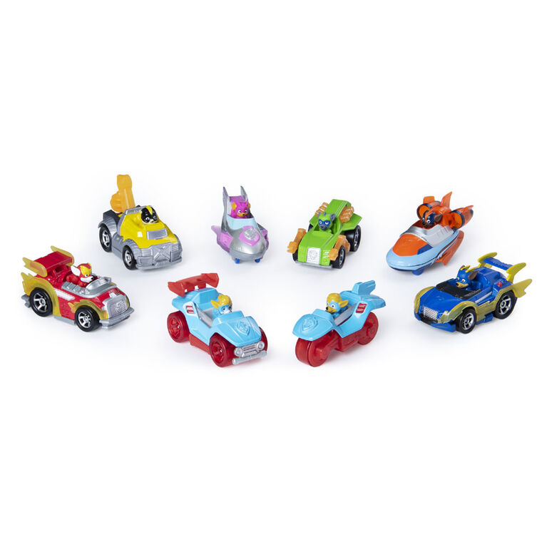PAW Patrol, True Metal Mighty Gift Pack of 8 Collectible Die-Cast Vehicles, 1:55 Scale  051532