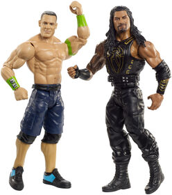 WWE - Coffret De Deux Figurines John Cena vs Roman Reigns