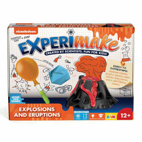 Nickelodeon - Trousse de science Experimake Explosions and Eruptions - Notre exclusivité - Édition anglaise