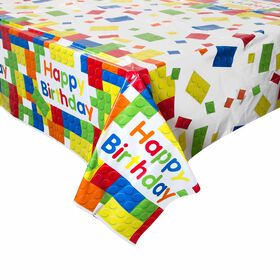 """Building Blocks Table Cover 54""""x84"""" - English Edition"""