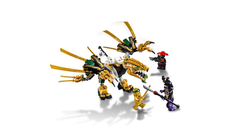 LEGO Ninjago Le dragon d'or 70666