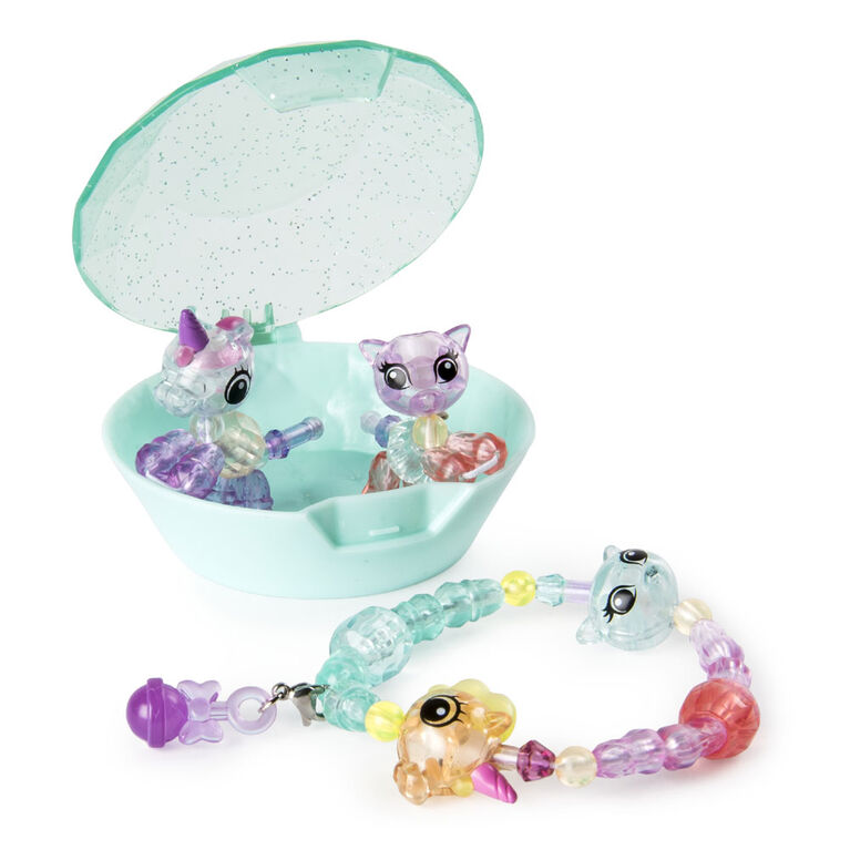 Twisty Petz - Babies 4-Pack Kitties and Unicorns Collectible Bracelet Set for Kids