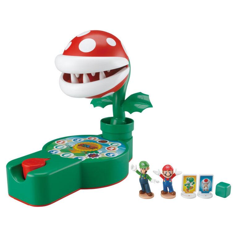 Epoch Games Super Mario Piranha Plant Escape ! avec figurines d'action Super Mario à collectionner - Édition anglaise
