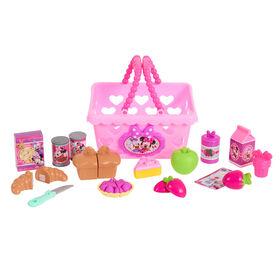 Minnie's Happy Helpers Bowtastic Shoppking Basket