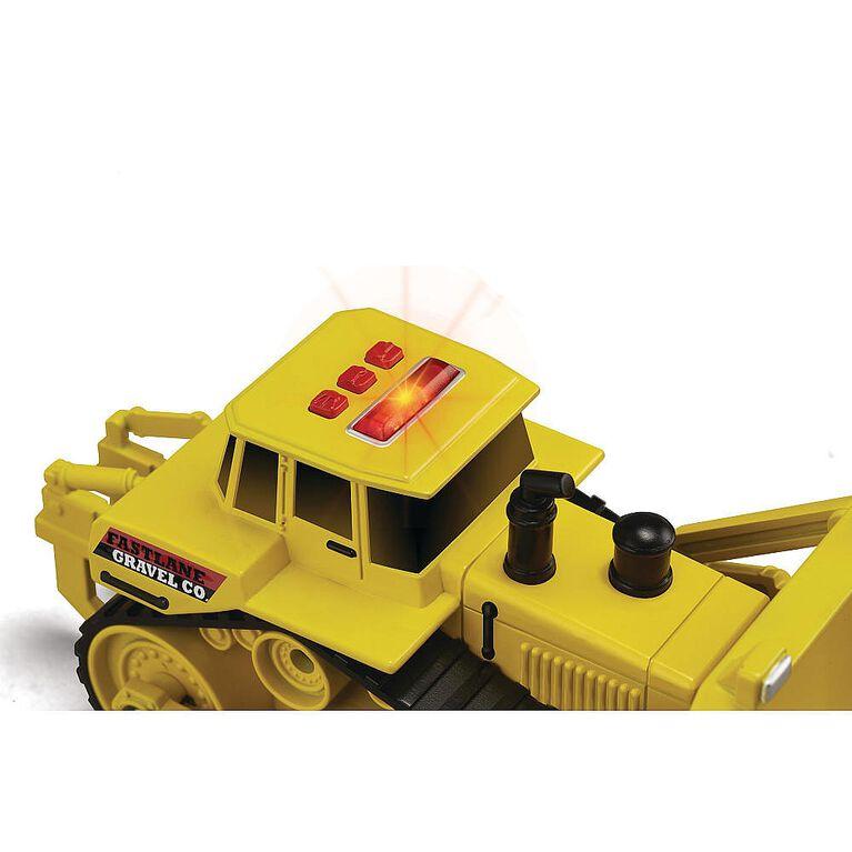 Fast Lane 3 Pack Light and Sound Gravel Co. Construction Vehicle Set