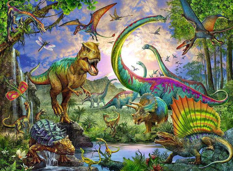 Ravensburger - Royaume dinosaures casse-têtes 200pc