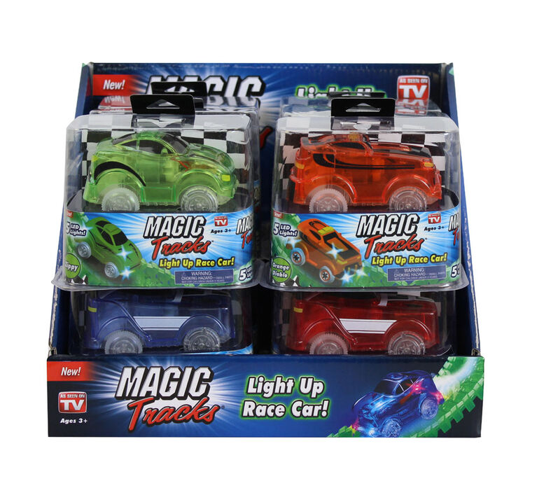 Magic Tracks Cars - Colours and styles may vary