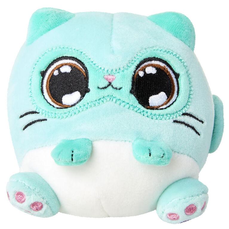 Kitten Catfe Meowble Scented Plush - Mint Siamese