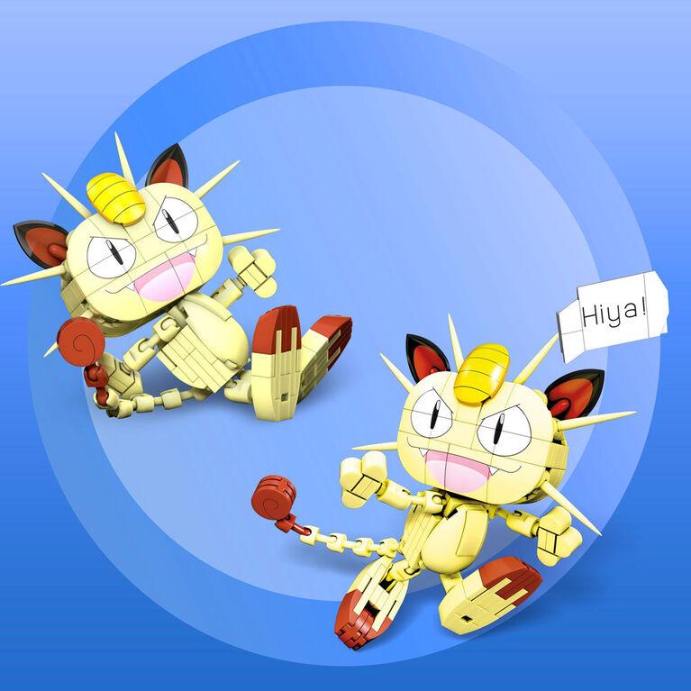 Mega Construx Pokemon Meowth