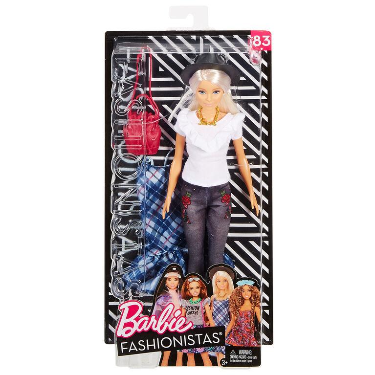 Barbie Fashionistas - Denim Floral Doll