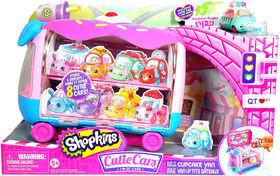 Cutie Cars Shopkins Joue et expose - Van à p'tits gâteaux.