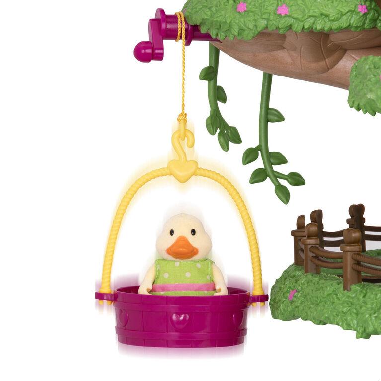Li'l Woodzeez, Family Treehouse with Accessories