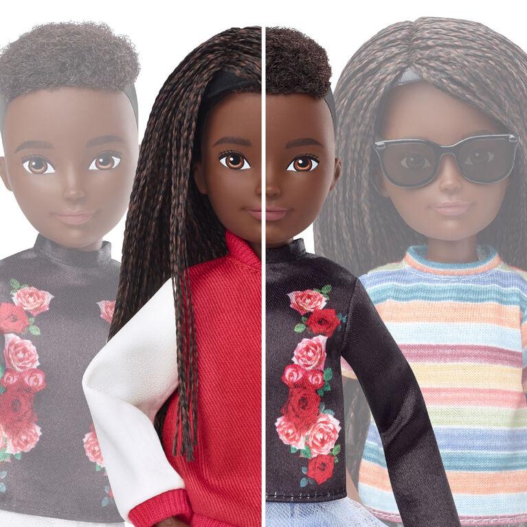 Creatable World Deluxe Character Kit Customizable Doll, Black Braided Hair