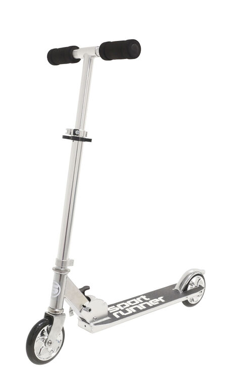 Sport Runner Chrome Edition Scooter - Silver - R Exclusive