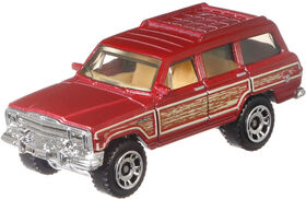 Matchbox - Jeep Wagoneer - Les styles peuvent varier
