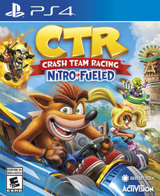 PlayStation 4 Crash Team Racing Nitro Fueled