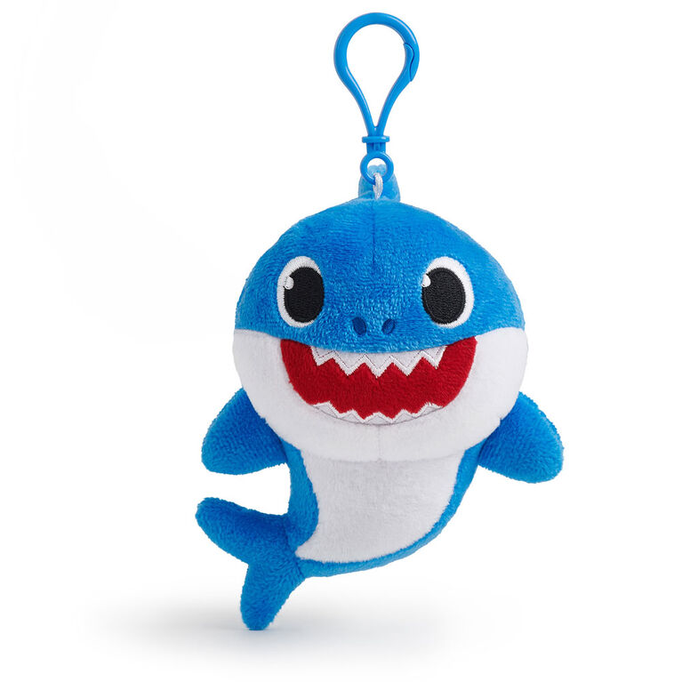 WowWee Pinkfong Baby Shark Plush Clips – Daddy Shark
