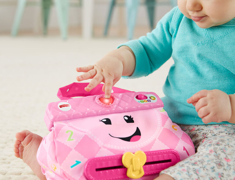 Fisher-Price Laugh & Learn My Smart Purse - French Edition