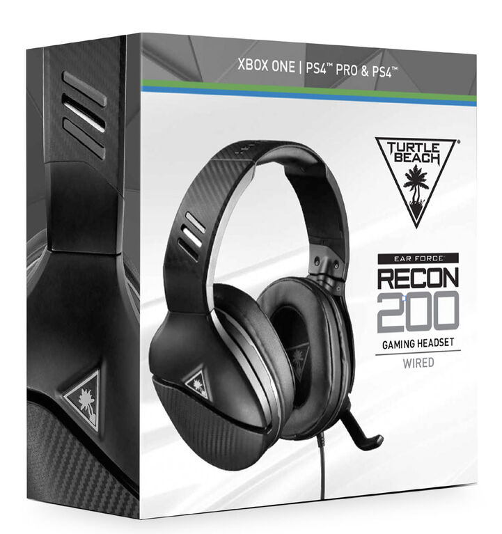 Ear Force Recon 200 Headset Black Universal