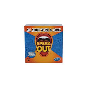 Hasbro Gaming - Speak Out Expansion Pack: All About Sports and Games