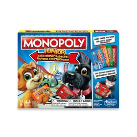 Hasbro Gaming - Monopoly Junior Electronic Banking