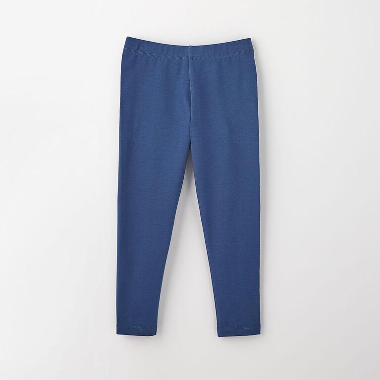 organic play legging, 18-24m - dark blue