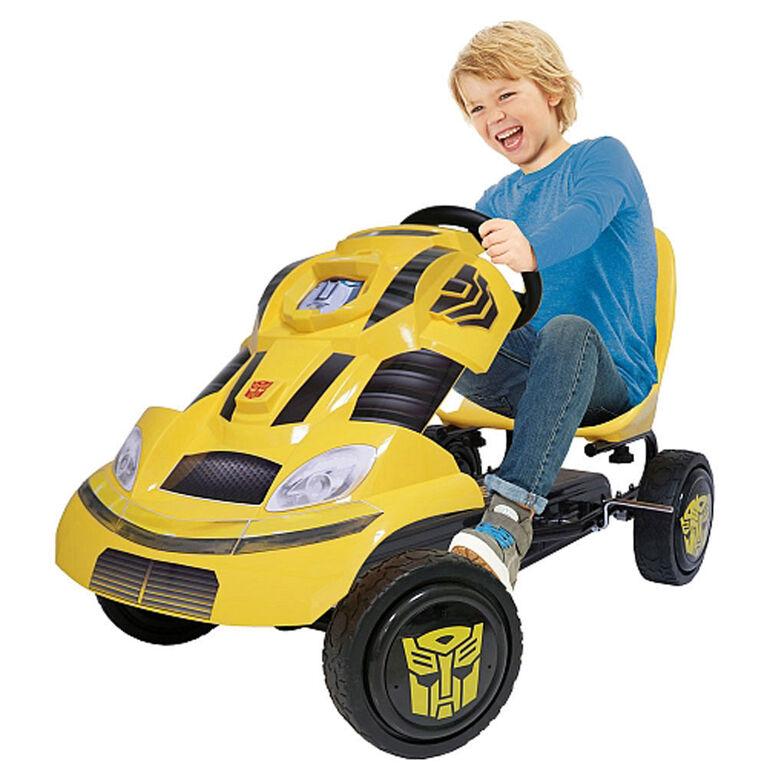Transformers Bumblebee Pedal Go Kart