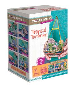 Terrarium Tropical Craftivity.