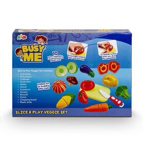 Busy Me Slice & Play Veggie Set - R Exclusive