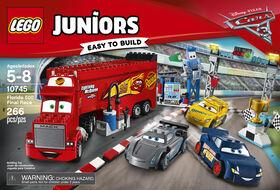 LEGO Juniors Cars 3 La course finale Florida 500 10745