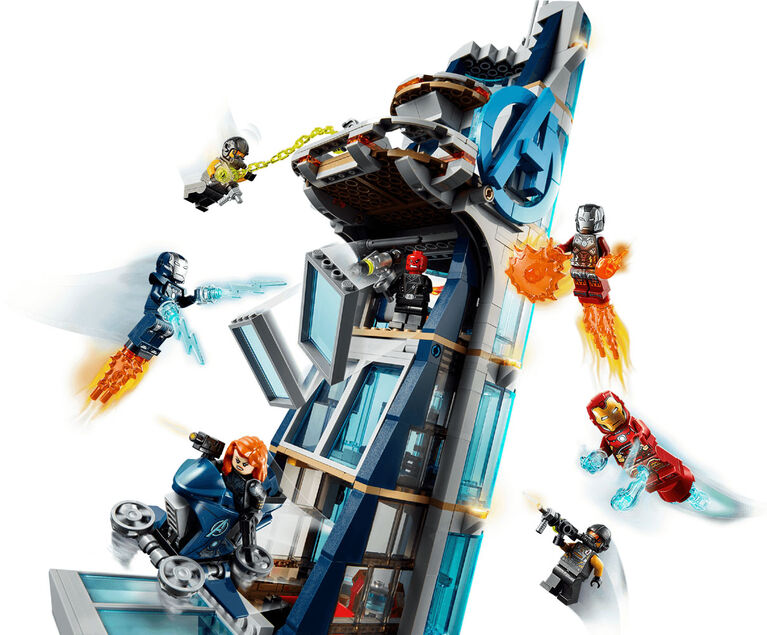 LEGO Super Heroes Avengers Tower Battle 76166