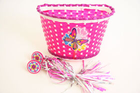 Basket with Streamers Combo