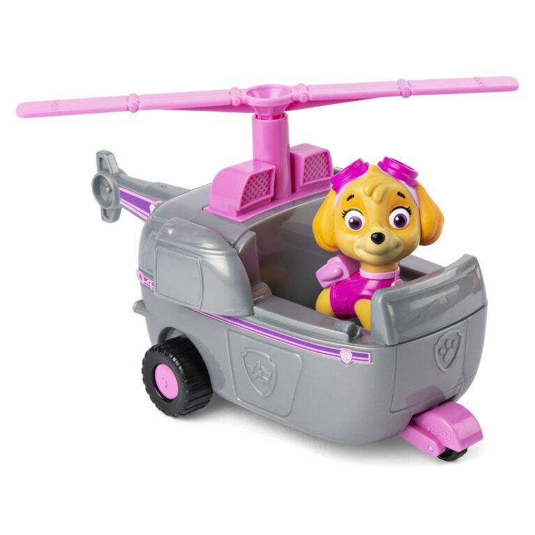 PAW Patrol, Hélicoptère de Stella avec figurine à collectionner, pour les enfants à partir de 3ans