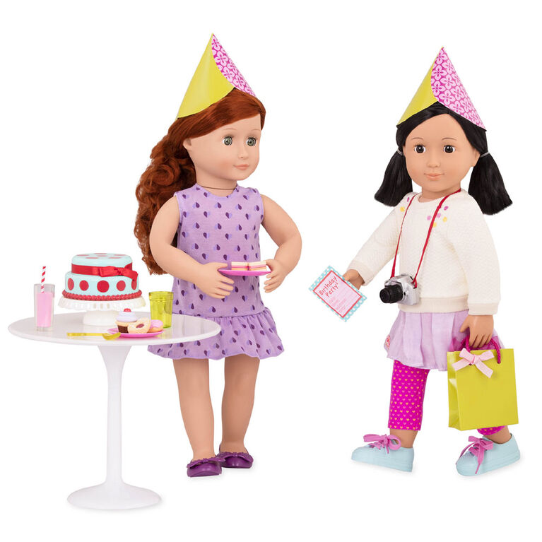 Our Generation, R.S.B.Me Party Planning Set for 18-inch Dolls