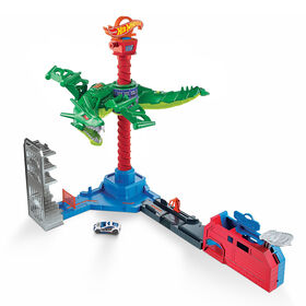 Hot Wheels - Hot Wheels City - Attaque du Robot Dragon
