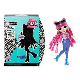 L.O.L. Surprise! O.M.G. Roller Chick Fashion Doll with 20 Surprises