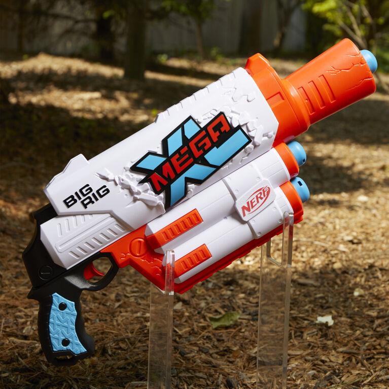 Nerf Mega XL Big Rig Blaster, Largest Nerf Mega Darts Ever