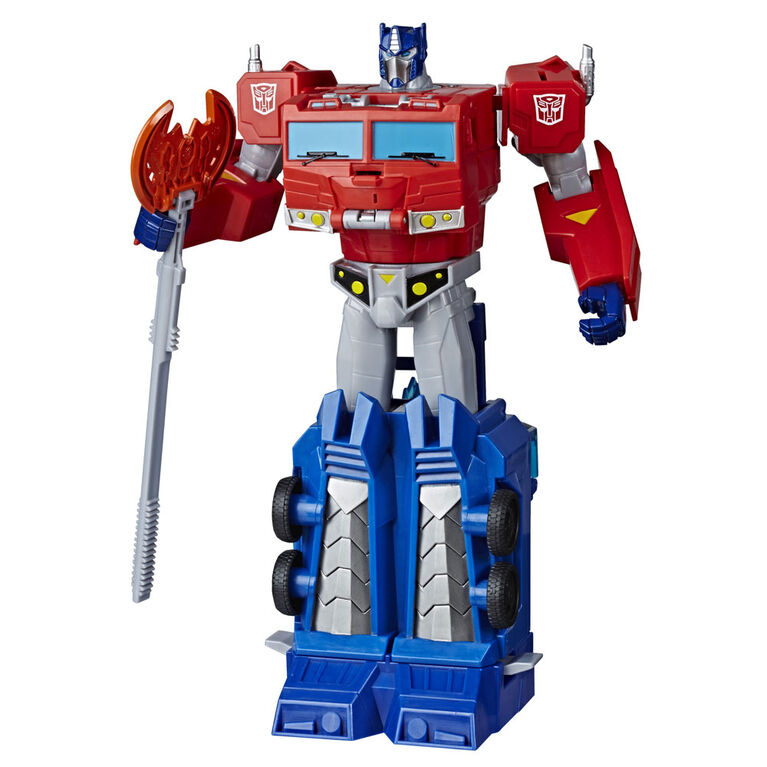 Transformers Toys Cyberverse Ultimate Class Optimus Prime Action Figure