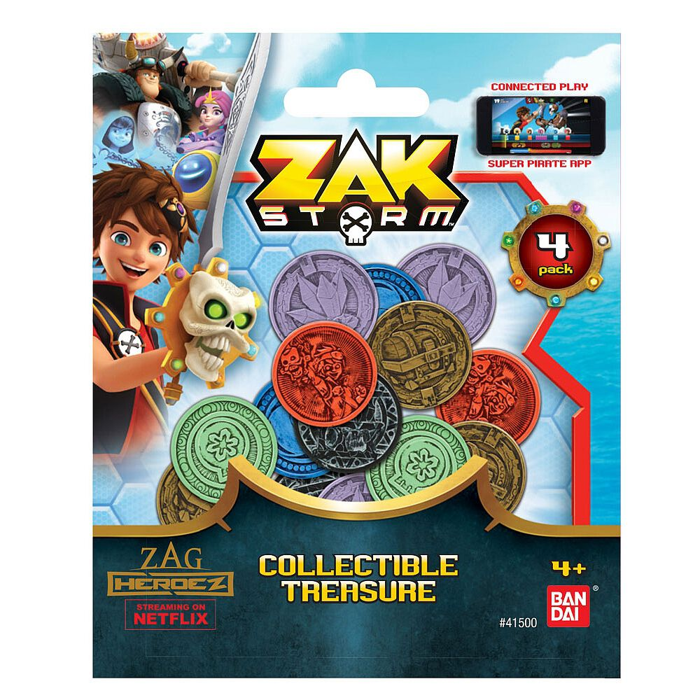Zak Storm Toy Lot 6 New Items