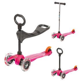 Micro Scooters -  Mini Micro 3-In-1 Classic Kickboard Pink